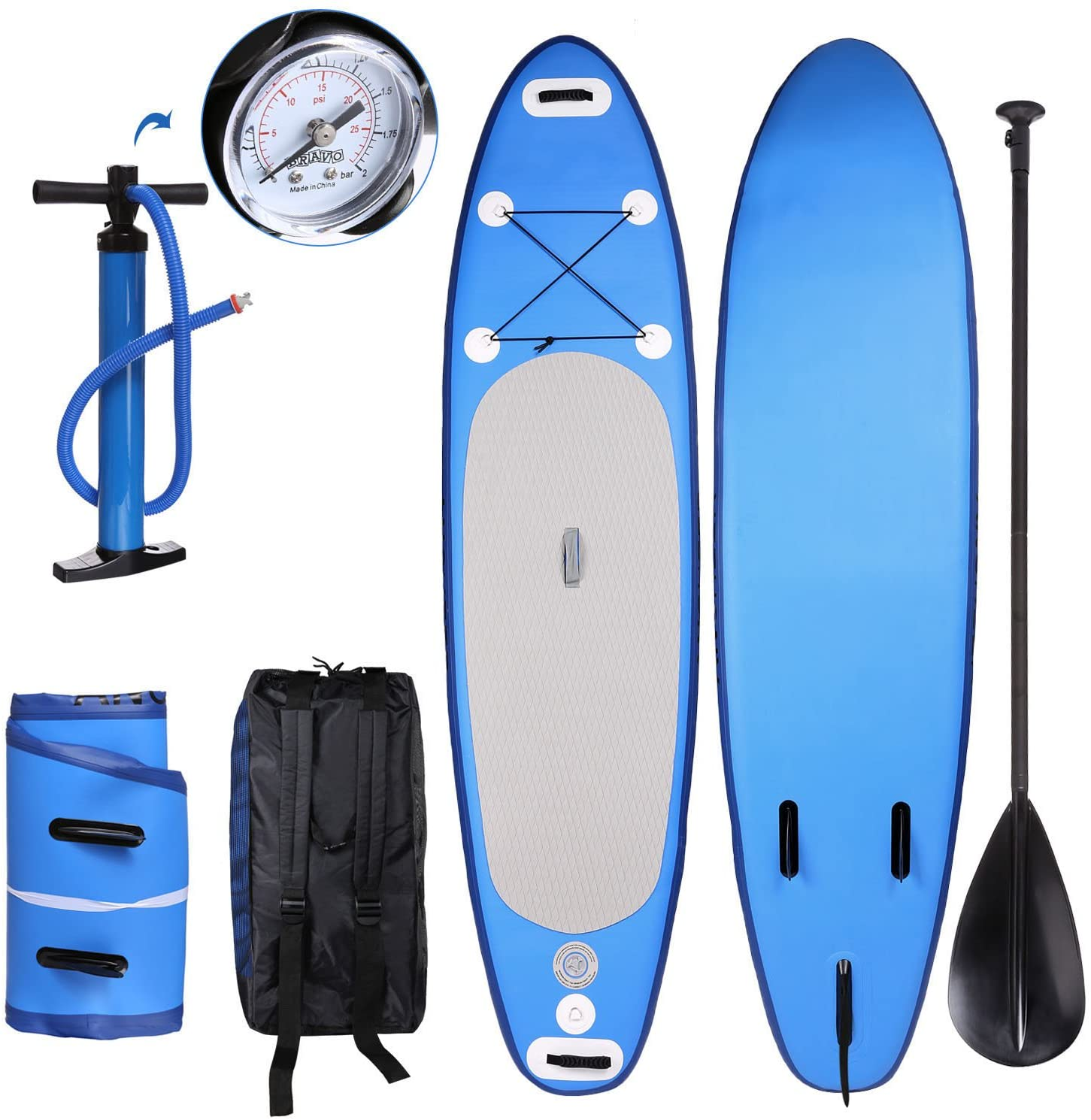Kepteen Inflatable Stand Up Paddle Board