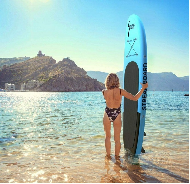 ZoeDul Inflatable Stand Up Paddle Board