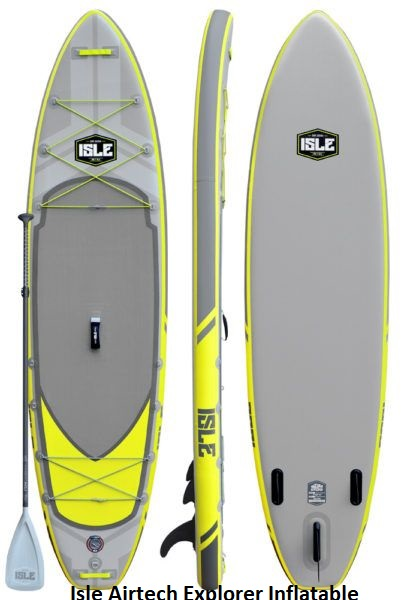 Isle Airtech Explorer Inflatable Paddle Board Review