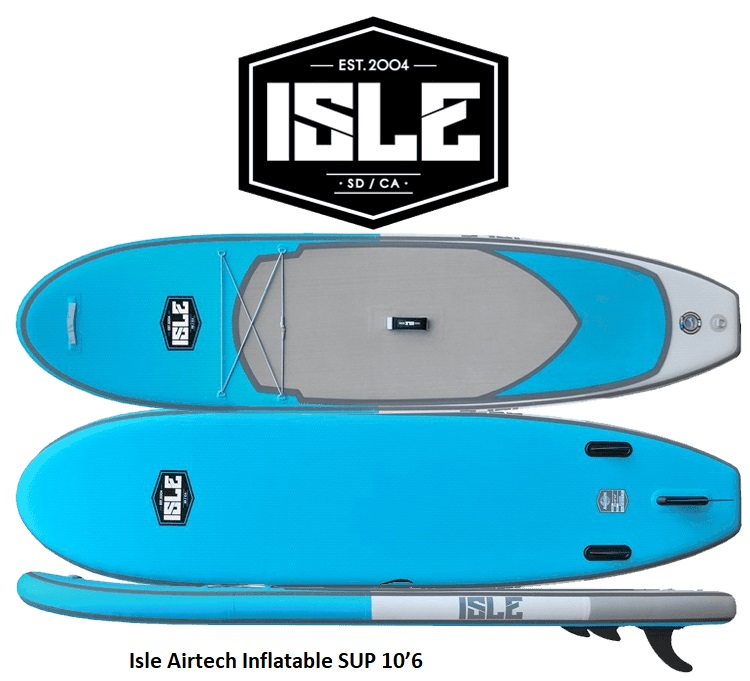 Isle Airtech Inflatable SUP 10'6 Review