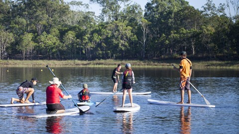 The Caboolture River SUP