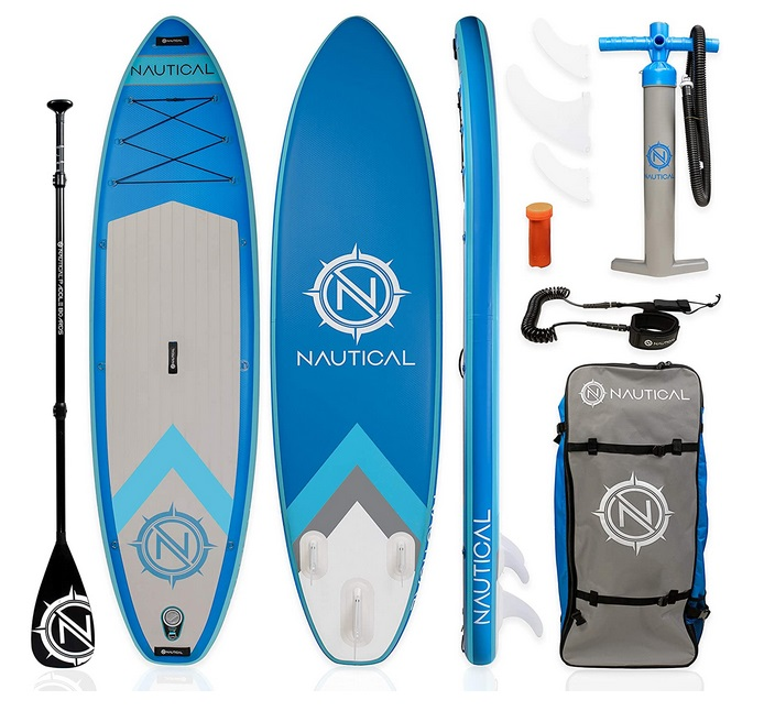 iROCKER Nautical Inflatable Paddle Board SUP