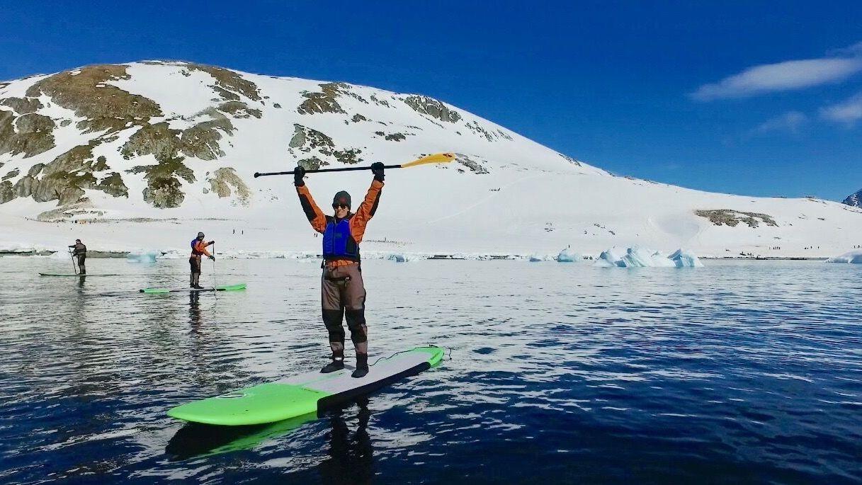 SUP Board Antarctica