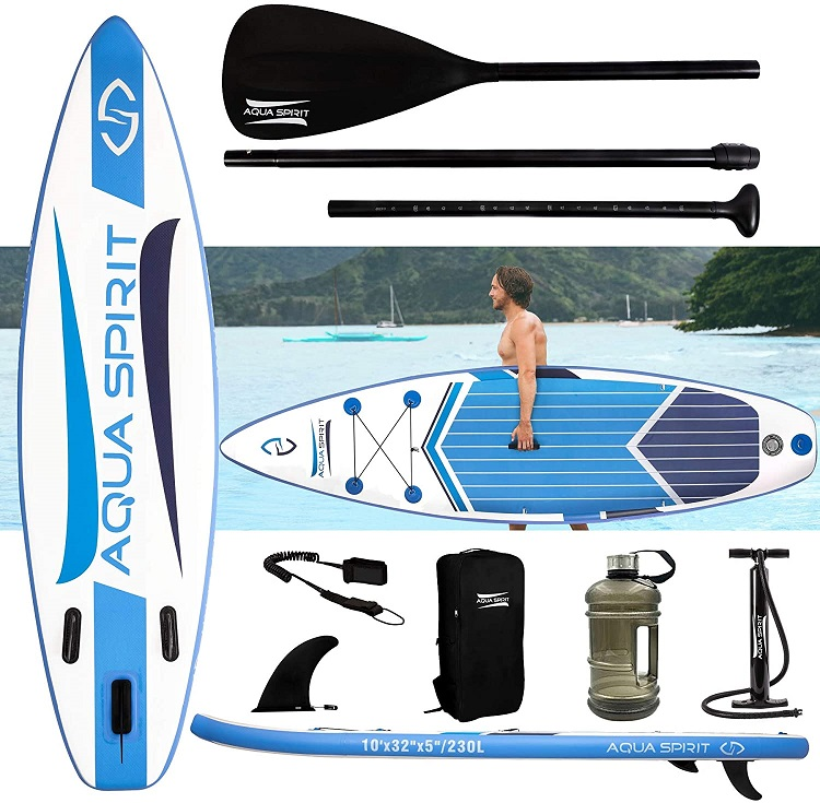 AQUA SPIRIT Premium Inflatable Paddleboard